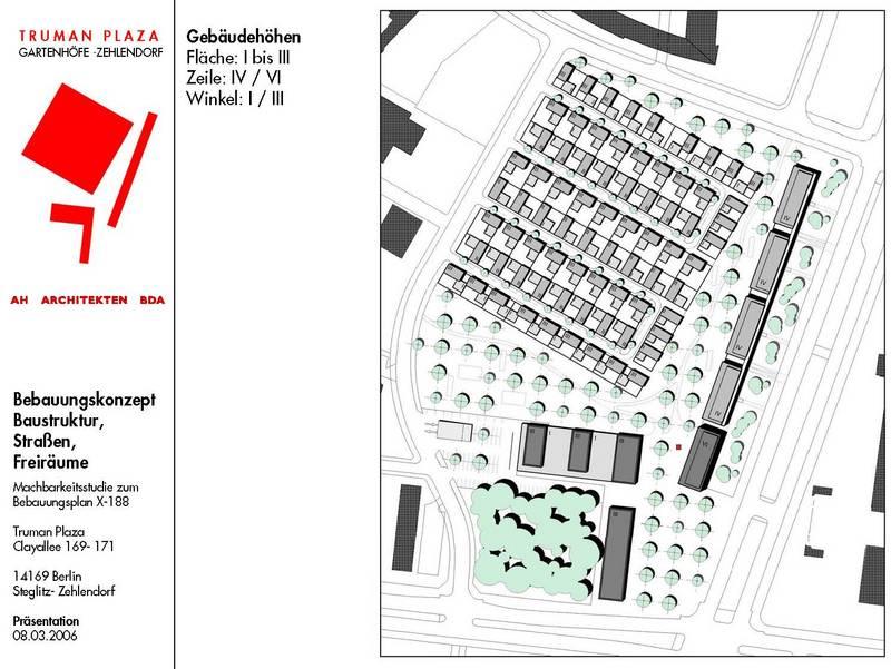 ahm architekten vorstudien machbarkeitsstudie 39 truman plaza 39 berlin steglitz zehlendorf. Black Bedroom Furniture Sets. Home Design Ideas